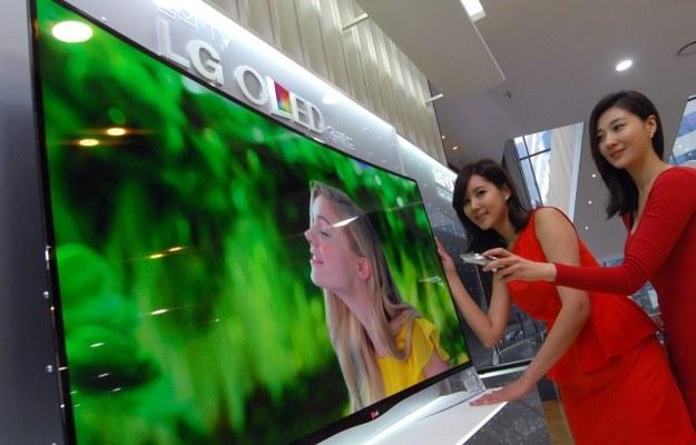 LG OLED TV z zakrzywionym ekranem trafia do sprzedaży w Korei Płd. /materiały prasowe