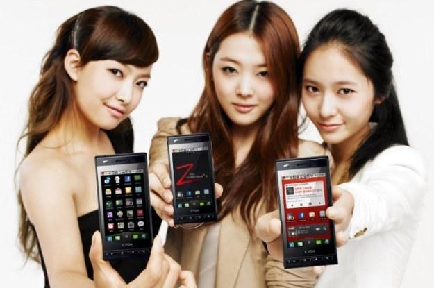 LG Optimus Z /materiały prasowe