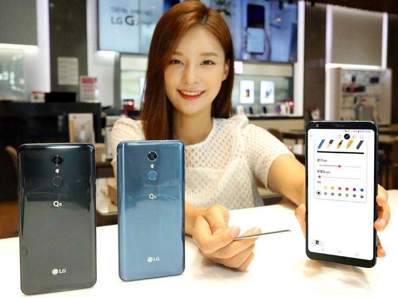 LG prezentuje smartfona Q8 /materiały prasowe