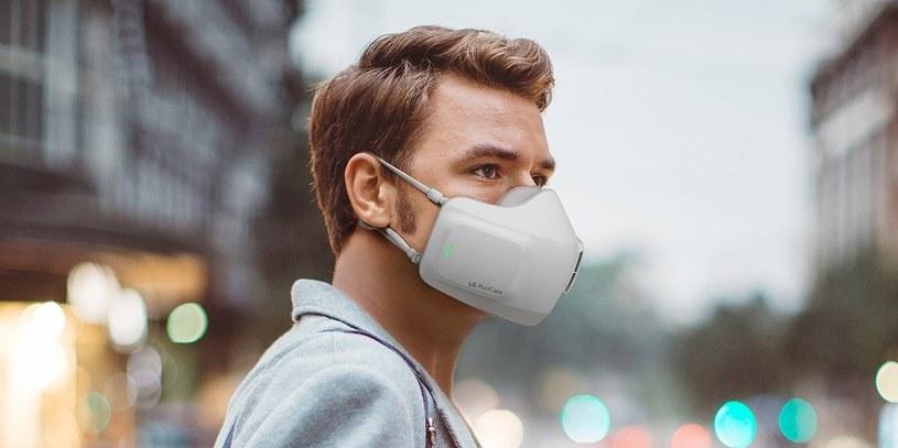 LG PuriCare Wearable /materiały prasowe