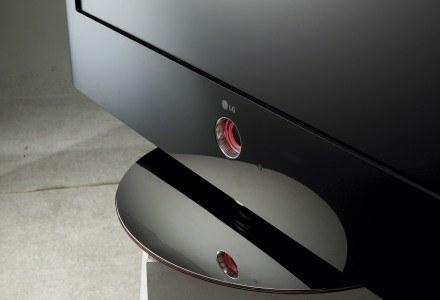 LG Scarlet - głośniki w tym modelu ukryte są z tyłu odbiornika /materiały prasowe