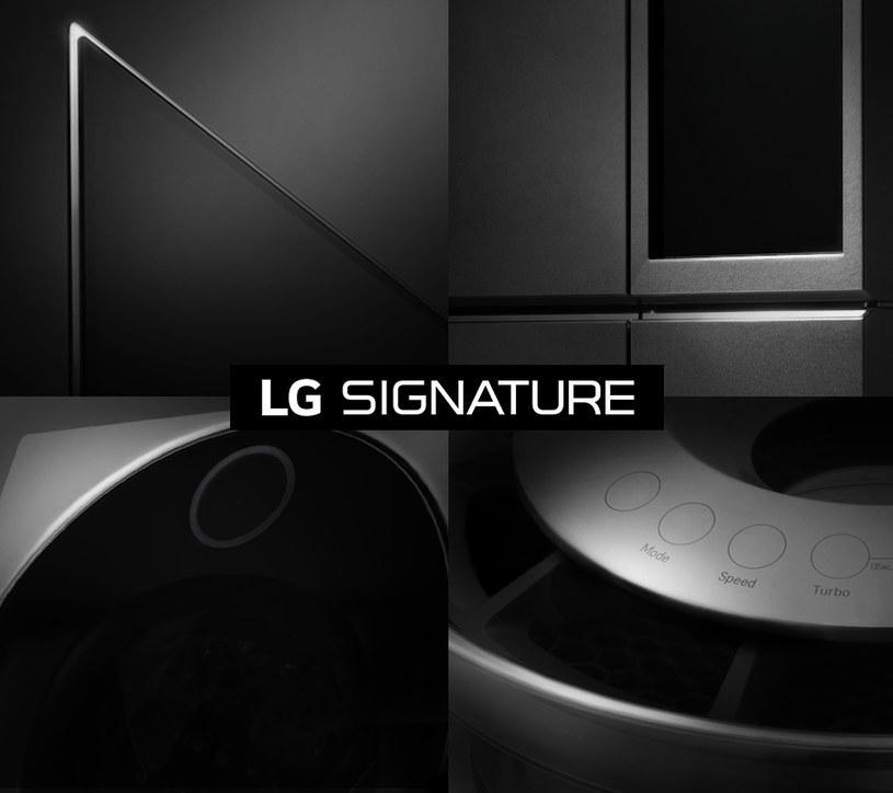 LG SIGNATURE - nowa marka firmy LG /materiały prasowe