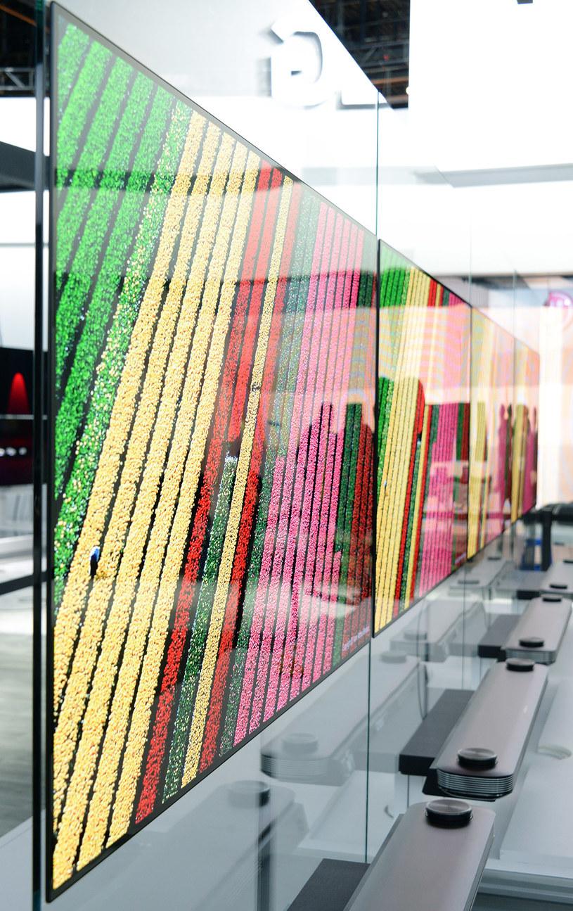 LG SIGNATURE OLED z serii W /materiały prasowe