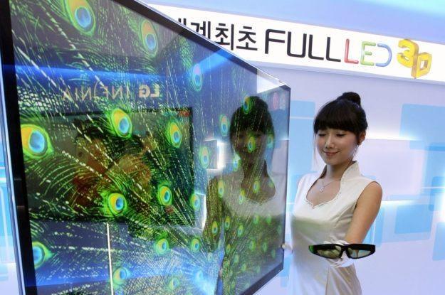 LG stawia na nową generację okularów 3D /AFP