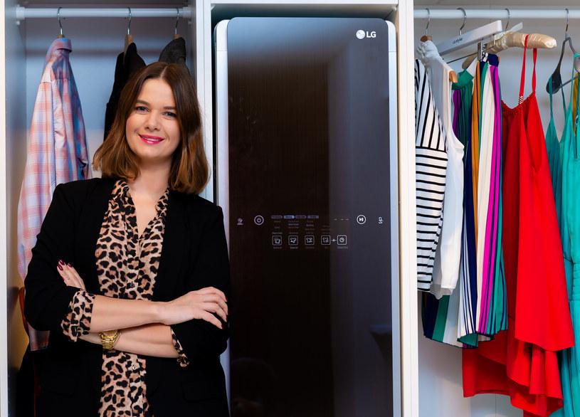 LG Styler to innowacyjna szafa parowa /materiały prasowe
