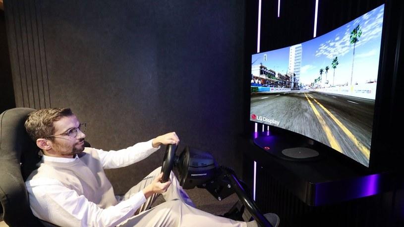 LG szykuje gamingowy TV, który będzie można zakrzywiać za dotknięciem przycisku /Geekweek