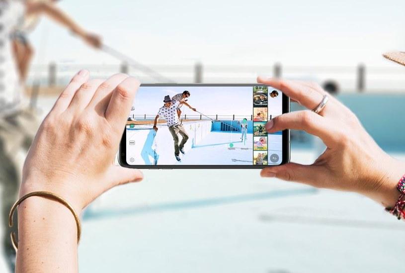 LG V30 ma 16-megapikselowy aparat z przesłoną f/1.6 /materiały prasowe