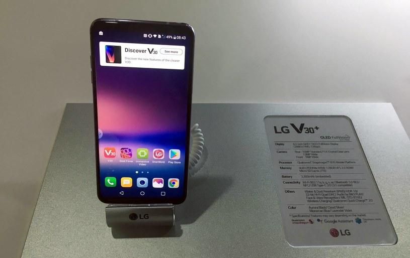 LG V30 - zdjęcie z prezentacji w Berlinie /INTERIA.PL