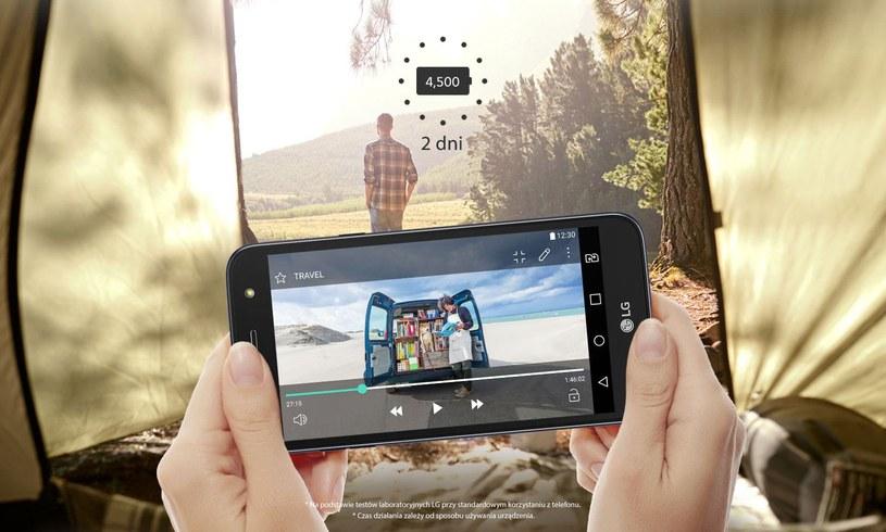 LG X power2 z baterią 4500 mAh /materiały prasowe