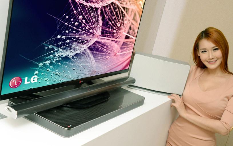 LG zaprezentueje nowe urządzenia z kategorii soundbar i soundplate na targach CES 2014 /materiały prasowe