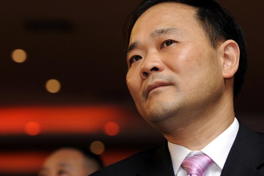 Li Shufu, założyciel i prezes chińskiej firmy Geely /LARRY LEUNG /PAP/EPA