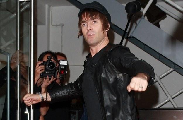 Liam Gallagher demolował samochody piłkarzy Manchester United fot. Neil Mockford /Getty Images/Flash Press Media