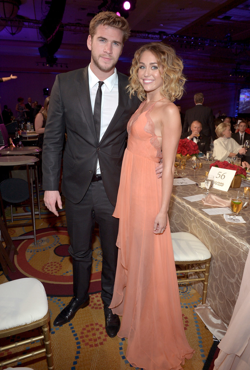 Liam Hemsworth i Miely Cyrus /David Winter /Getty Images
