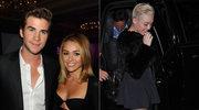 Liam Hemsworth i Miley Cyrus/ Miley w nowej fryzurze