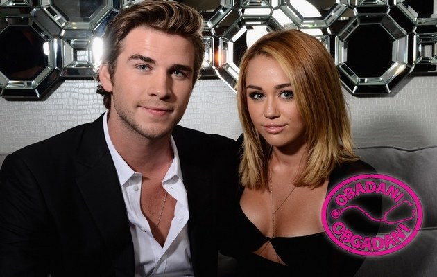 Liam Hemsworth i Miley Cyrus /Jason Merrit /Getty Images