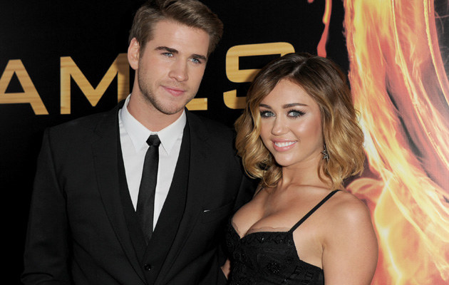 Liam Hemsworth i Miley Cyrus /Kevin Winter /Getty Images