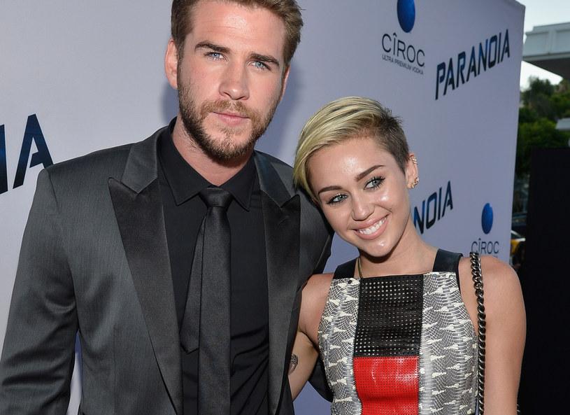 Liam Hemsworth i Miley Cyrus /Getty Images