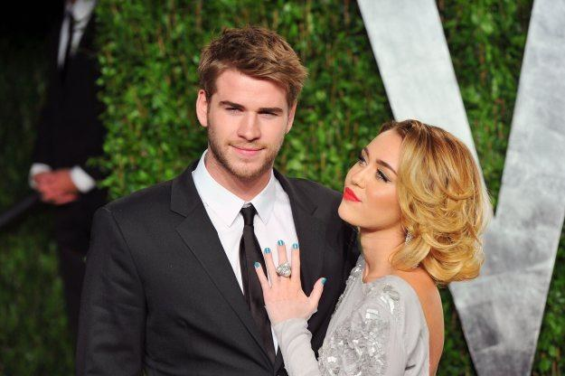 Liam Hemsworth oświadczył się Miley Cyrus fot. Alberto E. Rodriguez /Getty Images/Flash Press Media