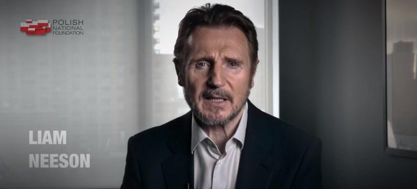 Liam Neeson w spocie Polskiej Fundacji Narodowej /YouTube