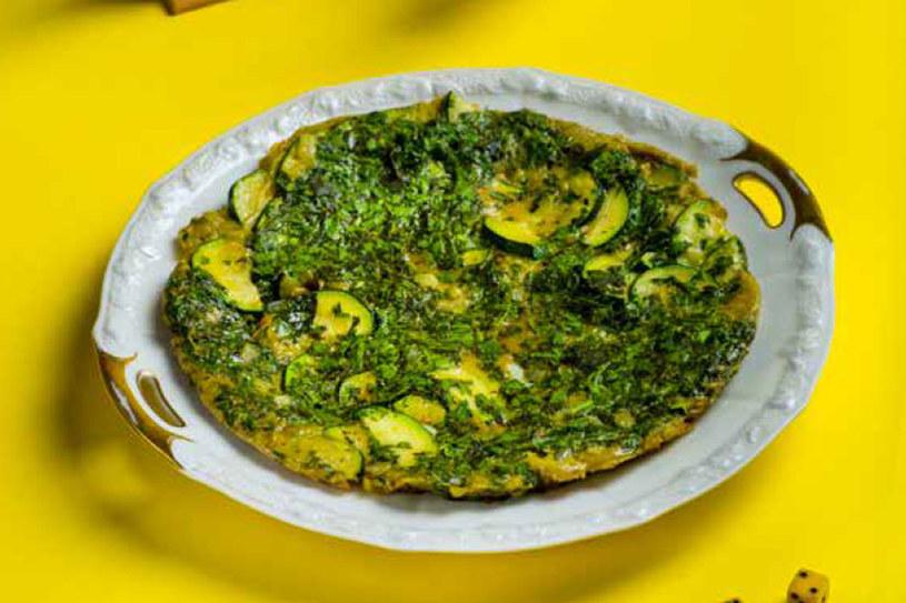 Libański zielony omlet /materiały prasowe