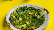 Libański zielony omlet