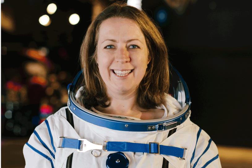 Libby Jackson zachęca dziewczyny, by interesowały się kosmosem, fot. Tom Griffiths /materiały prasowe