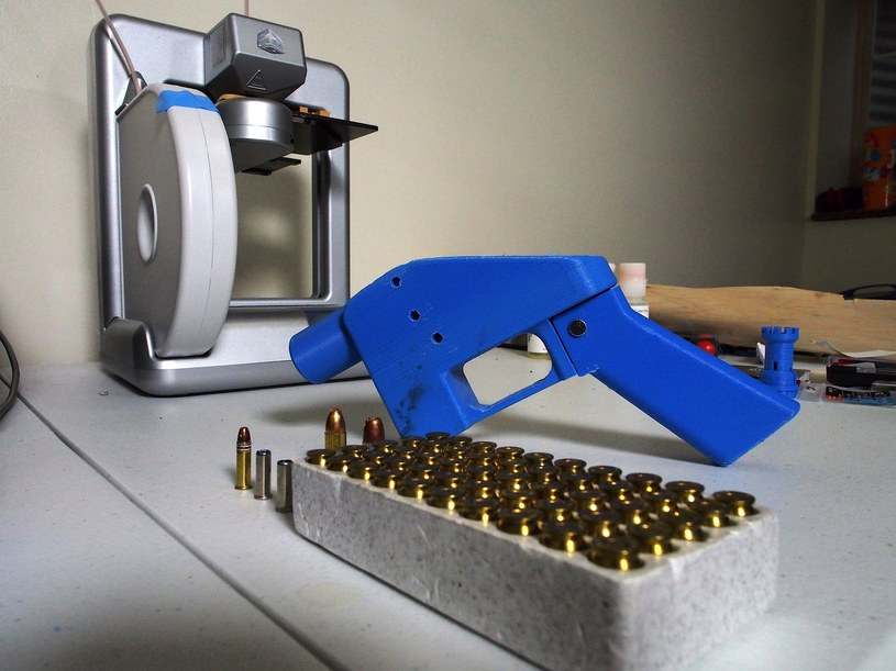 Liberator - projekt broni 3D autorstwa Defense Distributed, Od niego wszystko się zaczęło /AFP