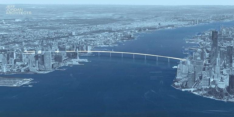 Liberty Bridge połączy Manhattan i Jersey City /materiały prasowe