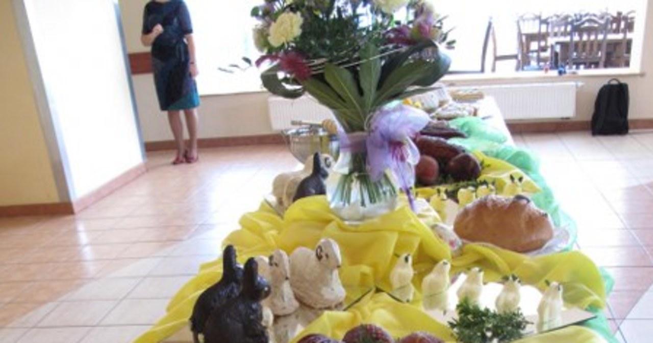 Licheń: Zobacz największą święconkę w Polsce