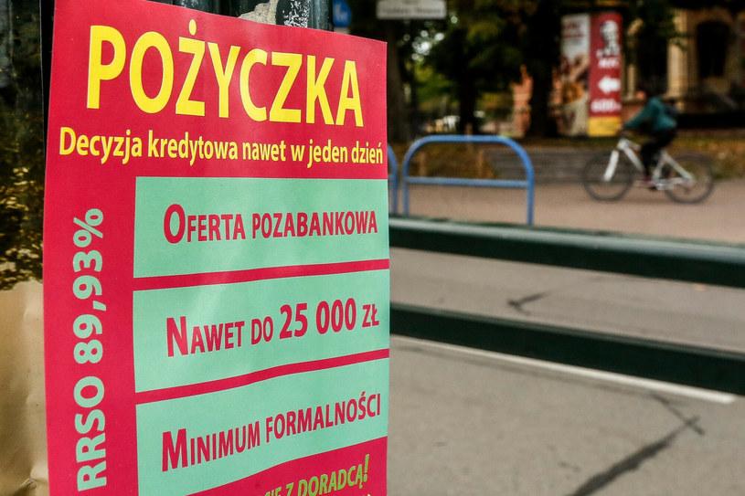 Lichwa? Rząd próbuje zmienić zapisy ustawy /Karolina Misztal /Reporter