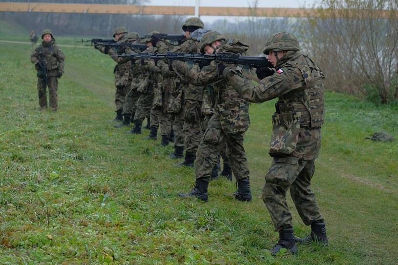 Liczebność Wojsk Obrony Terytorialnej przekroczyła 10 tysięcy żołnierzy /Łukasz Solski /East News
