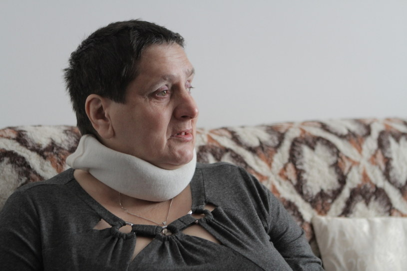 Liczne choroby i problemy z poruszaniem się odebrały jej możliwość bycia pielęgniarką /Szlachetna Paczka