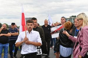 Lider Agrounii Michał Kołodziejczak: Jesteśmy gotowi, żeby umierać