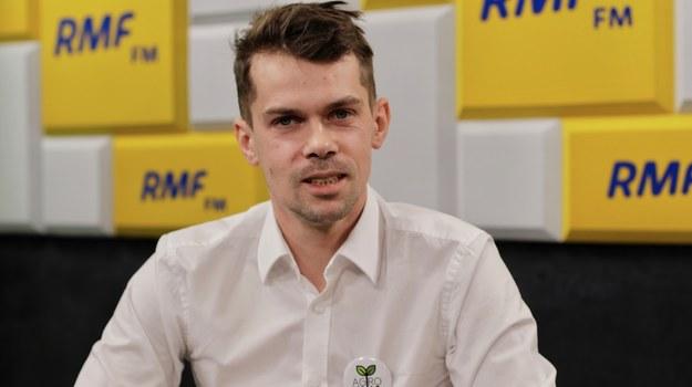 Lider Agrounii Michał Kołodziejczak /Karolina Bereza /RMF FM