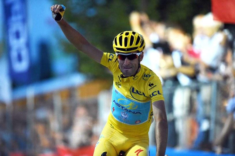 Lider Astany Vincenzo Nibali /AFP