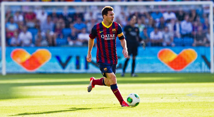 Lider Barcelony - Leo Messi /PAP/EPA