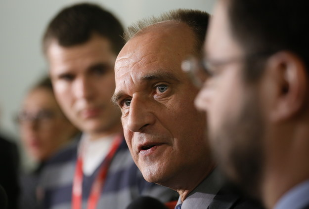 Lider i szef klubu parlamentarnego ruchu Kukiz`15 Paweł Kukiz /Paweł Supernak /PAP
