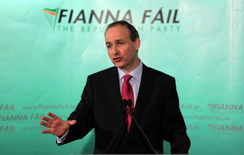 Lider irlandzkiej Partii Republikańskiej Micheál Martin prognozuje zjednoczenie Irlandii /AFP