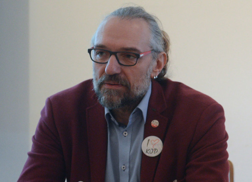 Lider KOD Mateusz Kijowski /Jakub Kamiński   /PAP