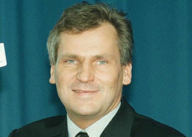 Lider lewicy Aleksander Kwaśniewski /AFP