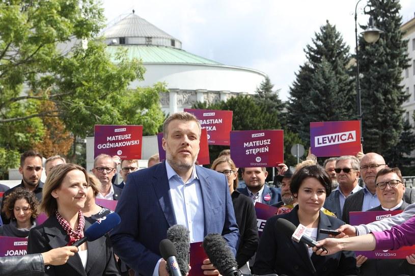 Lider Lewicy Razem Adrian Zandberg /Tomasz Jastrzebowski/REPORTER /Reporter