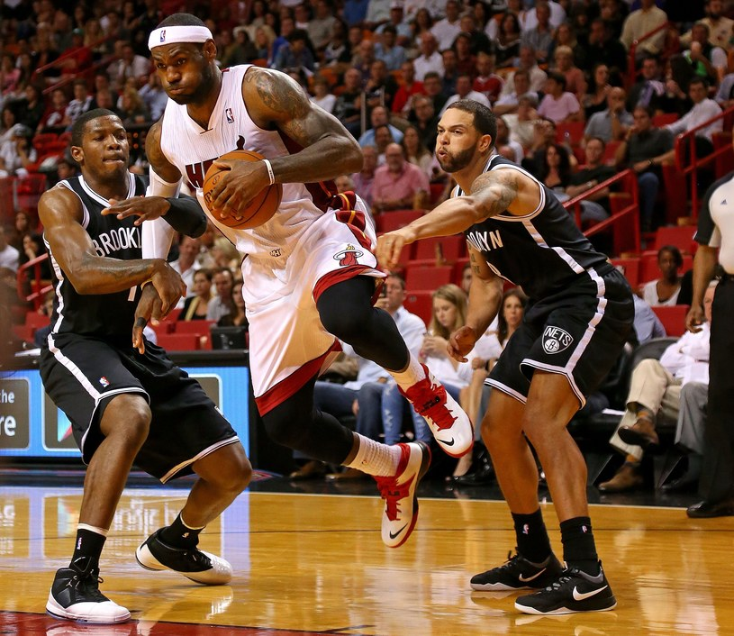 Lider Miami Heat LeBron James /AFP