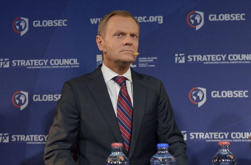 Lider Nowej Prawicy Janusz Korwin-Mikke chce postawić premiera Donalda Tuska przed Trybunałem Stanu. /Radek Pietruszka /PAP