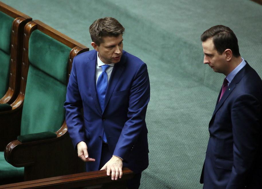 Lider Nowoczesnej Ryszard Petru i szef PSL Władysław Kosiniak-Kamysz /Tomasz Gzell /PAP