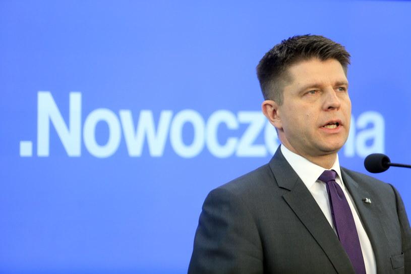 Lider Nowoczesnej Ryszard Petru /Leszek Szymański /PAP