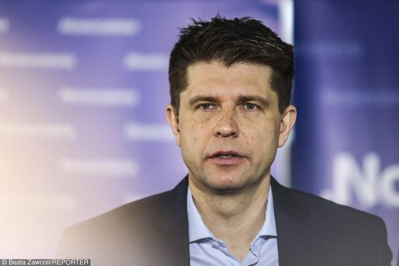 Lider Nowoczesnej Ryszard Petru /Beata Zawrzel/REPORTER /East News