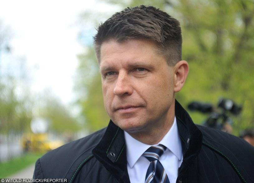 Lider Nowoczesnej Ryszard Petru /Witold Rozbicki/REPORTER /East News