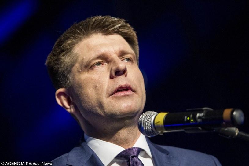 Lider Nowoczesnej Ryszard Petru /Tomasz Gola /East News