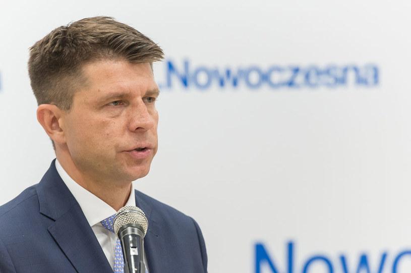 Lider Nowoczesnej - Ryszard Petru /Maciej Kulczyński /PAP