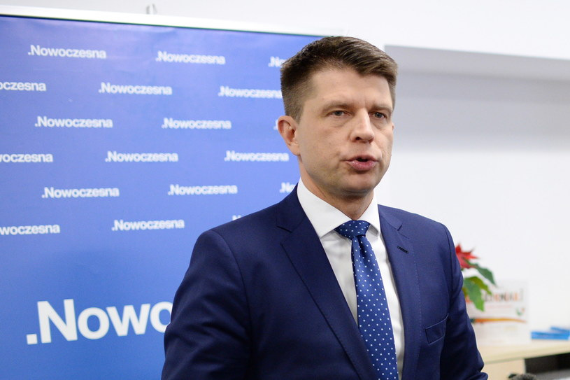 Lider Nowoczesnej Ryszard Petru /PAP/Jacek Turczyk /PAP